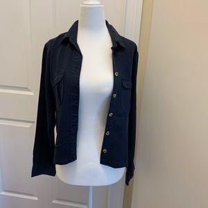 Abercrombie & Fitch Women's Crop Button-Up